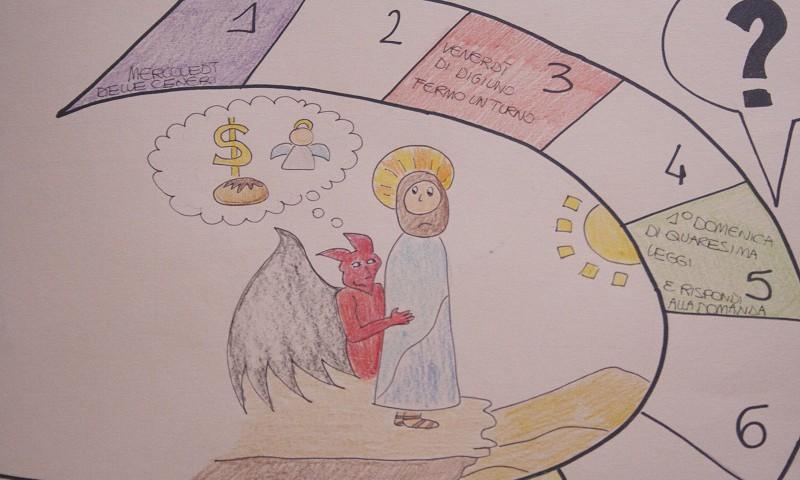 Il gioco: in cammino verso la Pasqua