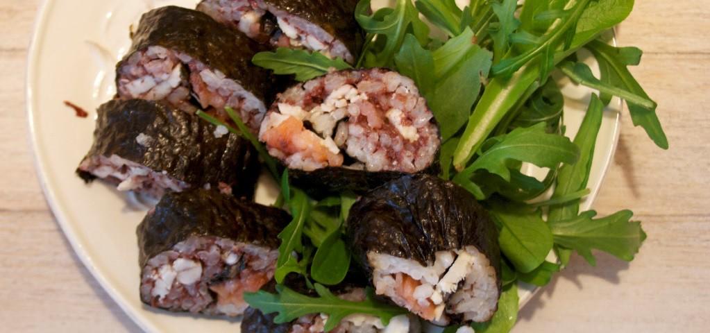 Un sushi formato Quaresima