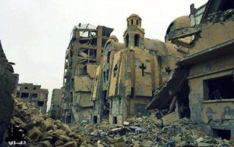 La Via Crucis dei cristiani della Siria